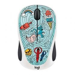 Mouse Logitech Bae-Bee 2.4 GHz Blue