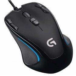 Mouse Gaming Logitech G300S Diestro y Zurdo Óptico