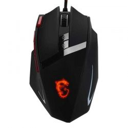 Mouse Gaming MSI DS 200 Diestro Laser 9 Botón USB