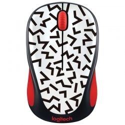 Mouse Logitech M317 Wireless Rojo