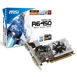 Tarjeta de Video MSI R6450 1GB DDR3 D-Sub DVI HDMI