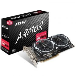 Tarjeta de Video MSI RX 580 8GB GDDR5 2xHDMI 2xDP