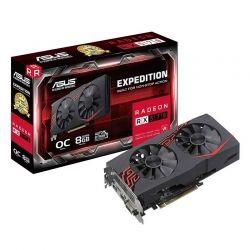 Tarjeta de Video ASUS EX-RX570 8GB GDDR5 DVI HDMI