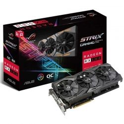 Tarjeta de Video ROG RX580 8GB GDDR5 DVR 2 x HDMI