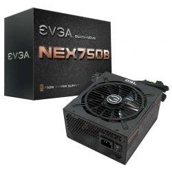 Fuente de Poder EVGA 750W 80 Plus Bronze