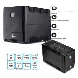 Batería UPS Xtech XTP-511 250W 500VA 8 Tomas LED