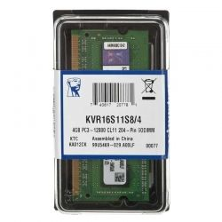 Memoria RAM SO DIMM Kingston DDR3 4GB 1600MHz ECC