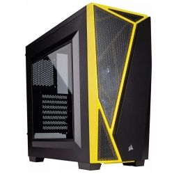Torre Media CORSAIR ATX Yellow Carbide Spec04