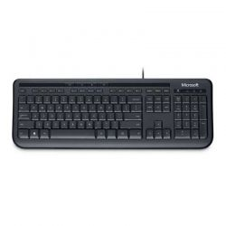 Teclado Wired Microsoft 600 USB Negro