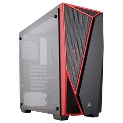 Torre Media Corsair ATX Red Carbide Series Spec04