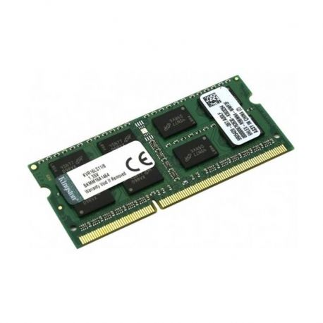 Memorias RAM Kingston 8GB DDR3 SO DIMM 1600MHz