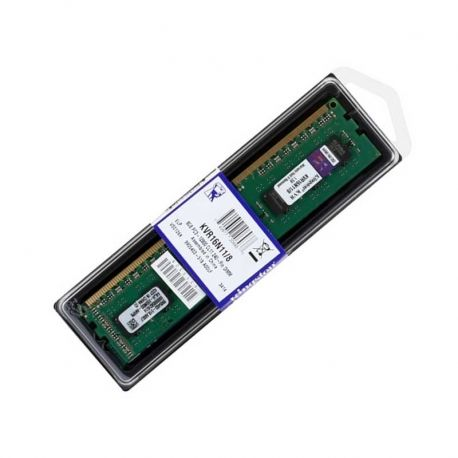Memoria RAM Kingston 8GB DDR3 DIMM 1600MHz 1.5 V