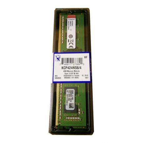 Memoria RAM Kingston 4GB DDR4 DIMM 288 2400MHz