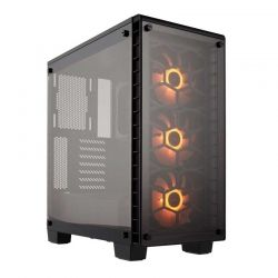Torre Media Corsair ATX Crystal Series 460X Negro