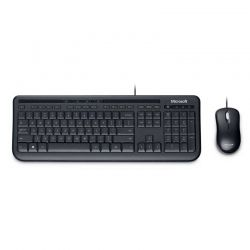 Teclado y Mouse Microsoft APB-00001 USB Negro