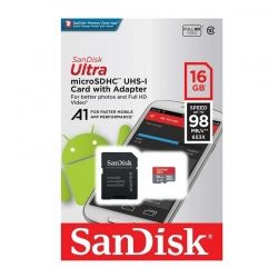 Tarjeta de Memoria SanDisk SDSQUAR-016G-GN6M 16GB