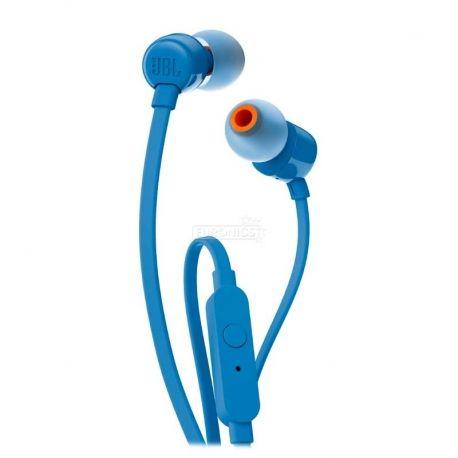 Audífonos JBL T110 3.5 mm Azul