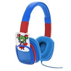 Audífonos XTH-350BL 3.5 mm Para Niño 3 o Más Azul