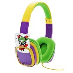 Audífonos XTH 350YL 3.5 mm Para niño 3 o Más