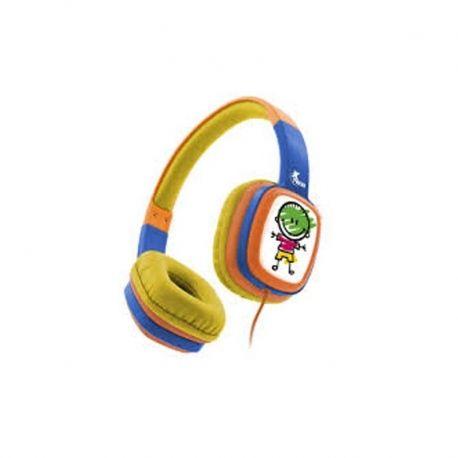 Audífonos XTH-350OR 3.5 mm Para niños De 3 o Más
