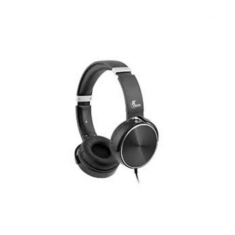 Audífonos XTH 345 3.5 mm Negro Platiado