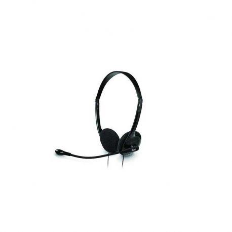 Headsets Klip Xtreme Sekual 3.5 mm Color Negro