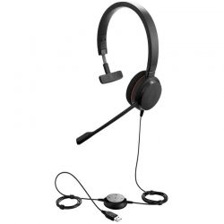 Headsets Evolve 20 Ms Mono USB Negro