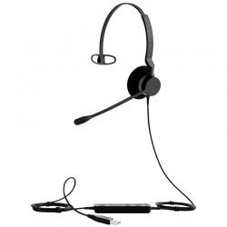 Audífonos Jabra Biz 2300 Usb USB Negro