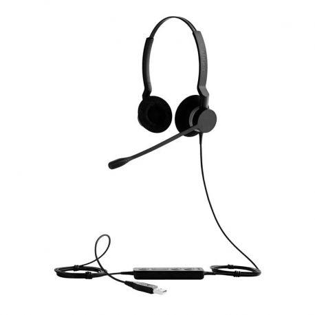 Audífonos Jabra Biz 2300 USB QD Negro