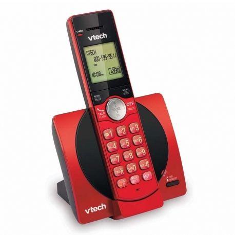 Teléfono Inalámbrico Vtech CS6919-16 Dect 6.0 Rojo