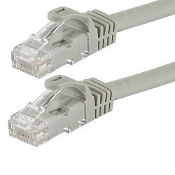 Patch Cord Nexxt NAB-PCS6A3FGR 3 Ft Cat6A gris