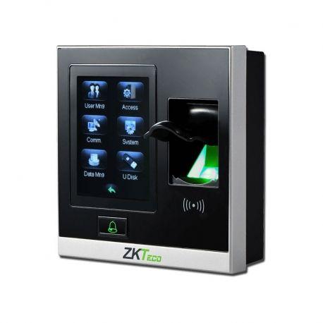 Reloj Biométrico ZKTeco SF400/ID IP 2.8' LCD