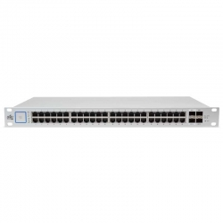 Switch Ubiquiti US48-750W 48p GigaE 4p FO-SFP PoE
