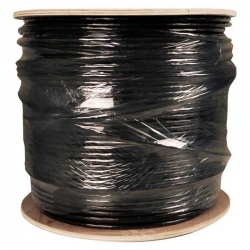Carrucha de Cable UTP Newlink 1000 Ft Cat6 Negro