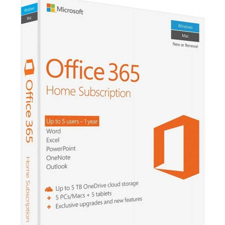 Software Office Home Licencia Microsoft 6GQ-00088