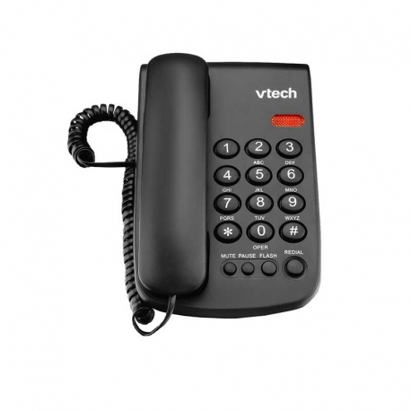 f6202c07ef6 Teléfono Alámbrico Vtech VTC100b Black | Tienda CQNet