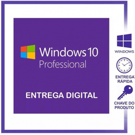 Microsoft Windows 10 Pro 1-Licencia PC 32/64-bits