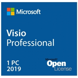 Office Visio Professional 2019 1-PC Descarga-ESD