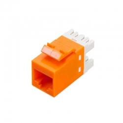 Jack RJ45 NEWLINK 3555005 Cat5E Naranja 200 MHz
