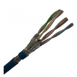Cable Nexxt Solutions Infrastructure Cat-6 Azul