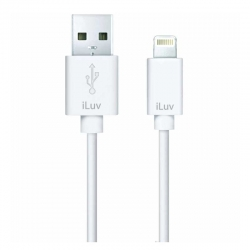 Cable De Datos iLuv USB 91.4 cm Blanco para Apple