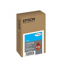Cartucho EPSON Capacidad extra alta Cian T748XXL2