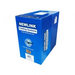 Carrucha de Cable UPT NEWLINK 802.3af Cat6 Gris