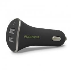 Adaptador Corriente Carro PureGear USB Dual