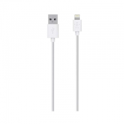Cable De Carga Belkin USB 1.22 m Blanco Apple