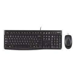 Teclado y Mouse Logitech 920-002565 Mk120 USB
