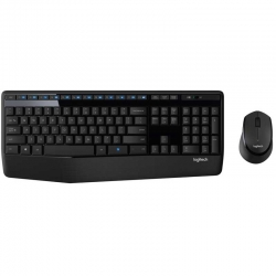 Teclado y Mouse Logitech Mk345 Inalámbrico Negro