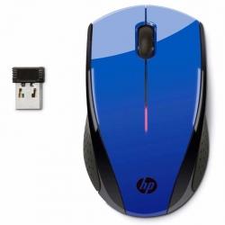 Mouse HP X3000 Óptico 3 botones Inalámbrico Azul