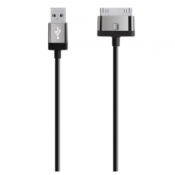 Cable USB Belkin Para Apple 1.22 m-Negro(F8J041)