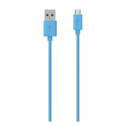 Cable USB Belkin Tipo A (M) 1.22 m Azul(F2CU012bt)